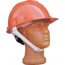 Каска защитная для строительно-монтажных работ с храп. механизмом